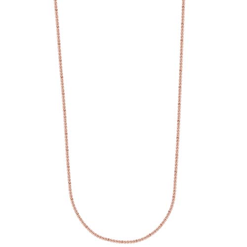 CN3005 16 18 Inch Rose Gold Cube Chain copy